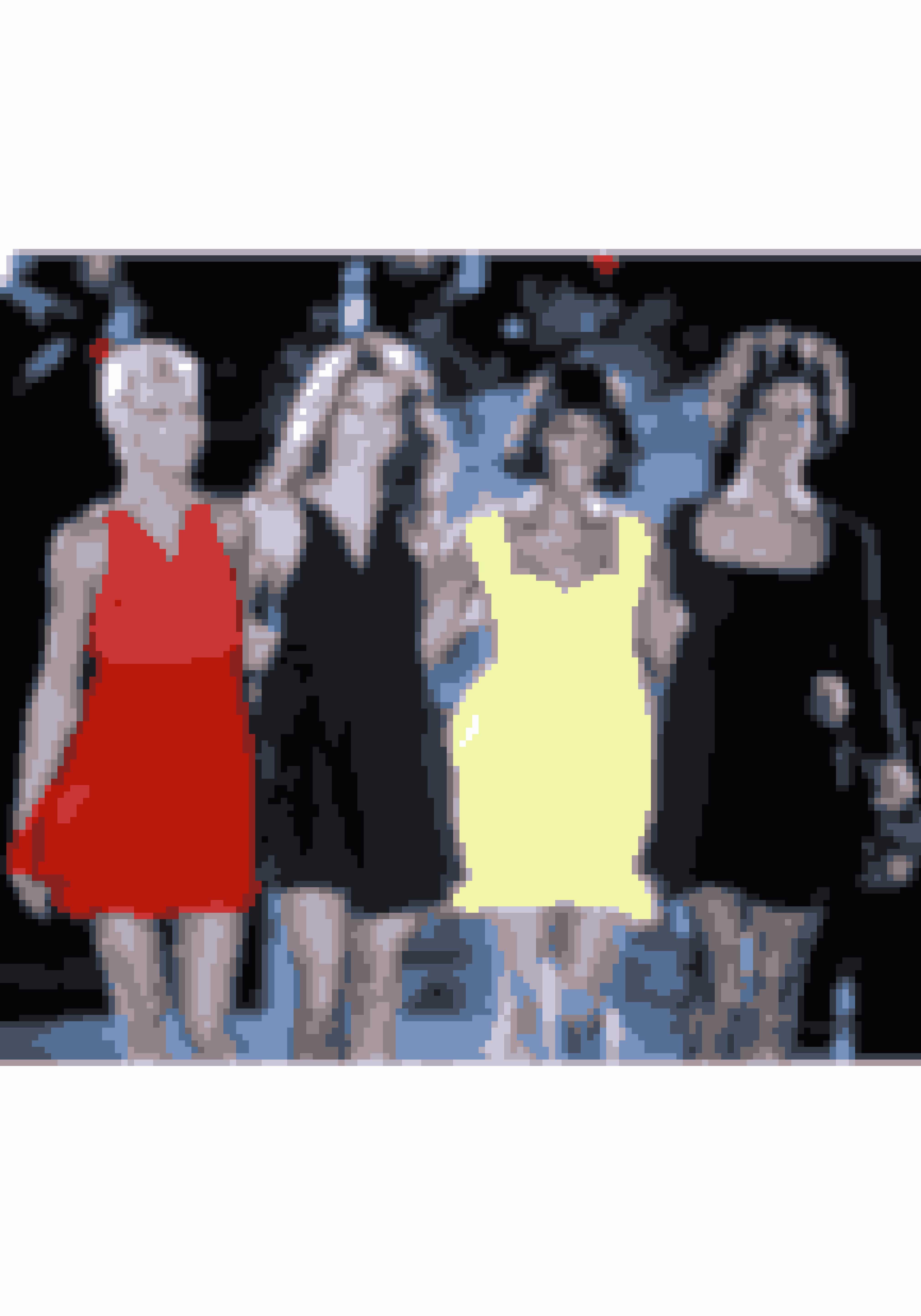 På podiet for Versace i 1991 – i selskab med super-kollegerne Linda, Naomi og Christy.