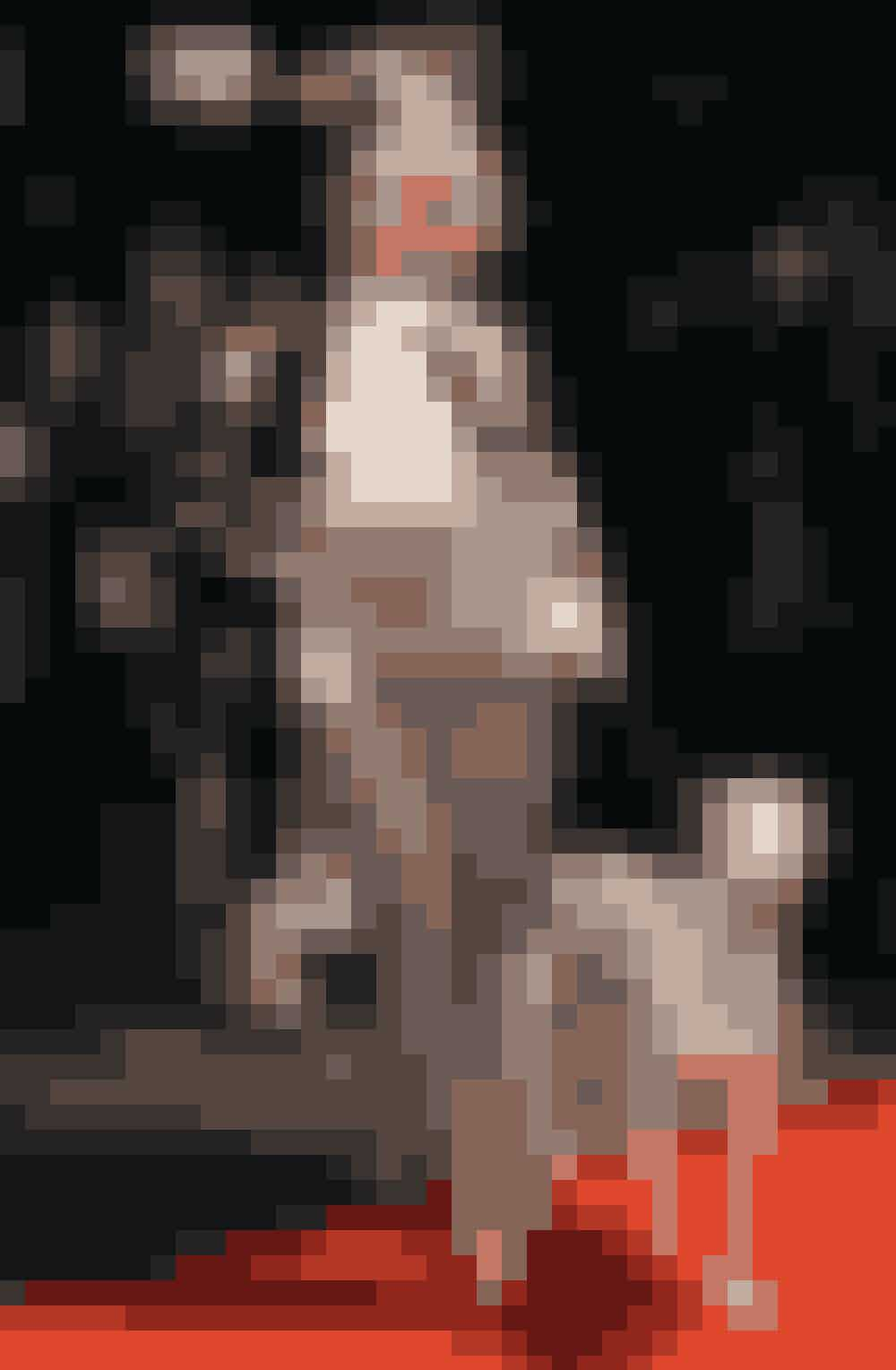 Sangeride Iggy Azalea som Cruella de Vil fra '101 dalmatinere'.