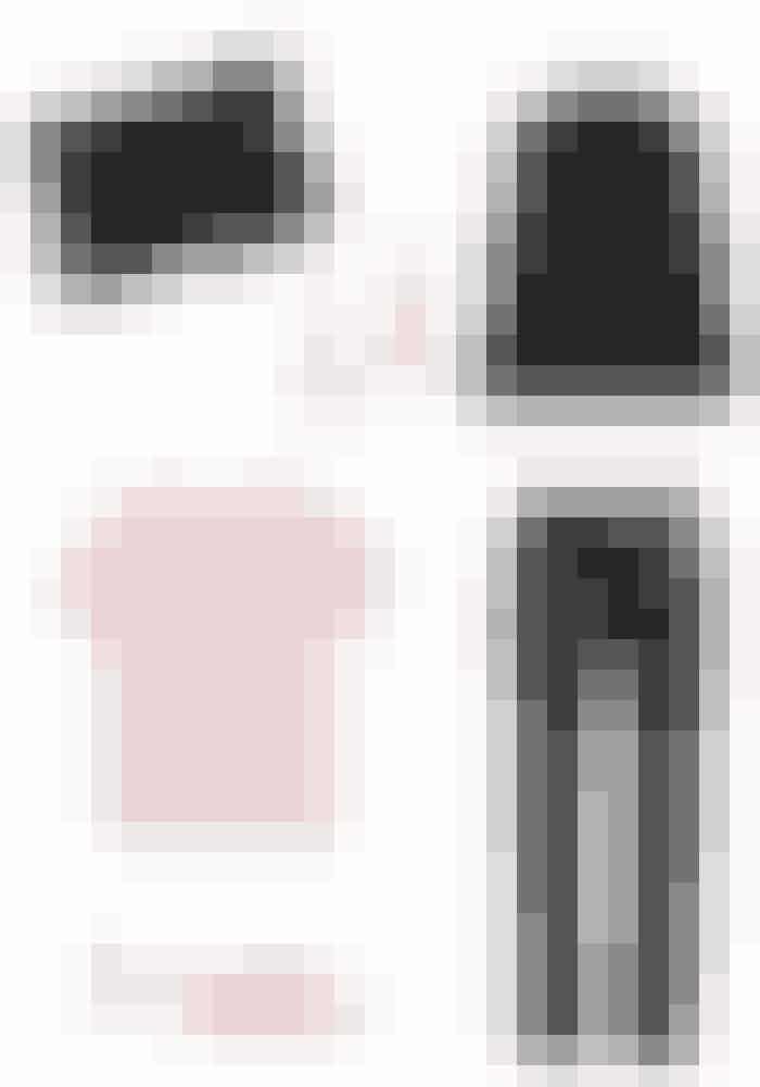 Cocktails med veninderne kan hurtigt føre til en tøjkrise: er jeg for fin? Er jeg under-dressed? Her er en farverig t-shirt et godt bud på et smart outfit, som ikke er for meget eller for lidt. Desuden ser du forneden, hvordan du kan få en t-shirt i den billigere ende til at se eksklusiv ud, ved at style den med et par rå bukser og feminine sko.Monki t-shirt, 130 kr. Købes online HERRag&Bone bukser, 7.409 kr. Købes online HERAlexandre Birman mules, 3.686 kr. Købes online HER& Other Stories Blazer, 664 kr. Købes online HERJulie Sandlau øreringe, 1.100 kr. Købes online HEROH! By Kopenhagen Fur clutch, 4.468 kr. Købes online HER