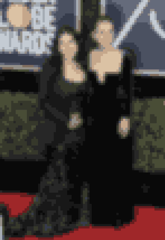 America Ferrera i Christian Siriano og Natalie Portman in Dior
