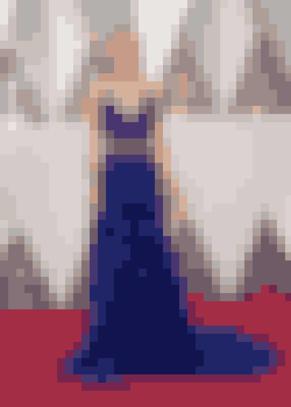 Brie Larson i Gucci. Brie Larson vandt en Oscar for bedste kvindelige hovedrolle i filmen Room.