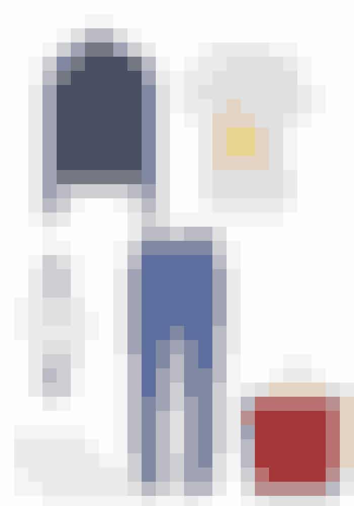 T-shirten er mest kendt for at være 'casual wear' til en stille og rolig søndag. Dette afslappende, men smarte outfit, er præget af farver, materialer og komfort. En t-shirt og et par jeans er altid et sikkert valg, og i dette tilfælde er det stylet med denim, et par lækre Alexander McQueen sneakers og en fed shopper fra Designers Remix.Ganni t-shirt, 499 kr. Købes online HERFive Tape, 999 kr.Købes online HERJ Brand, 3.016 kr.Købes online HERAlexander McQueen, 3.281 kr.Købes online HERDesigners Remix, 1.100 kr.Købes online HERDaniel Wellington, 995 kr.Købes online HER
