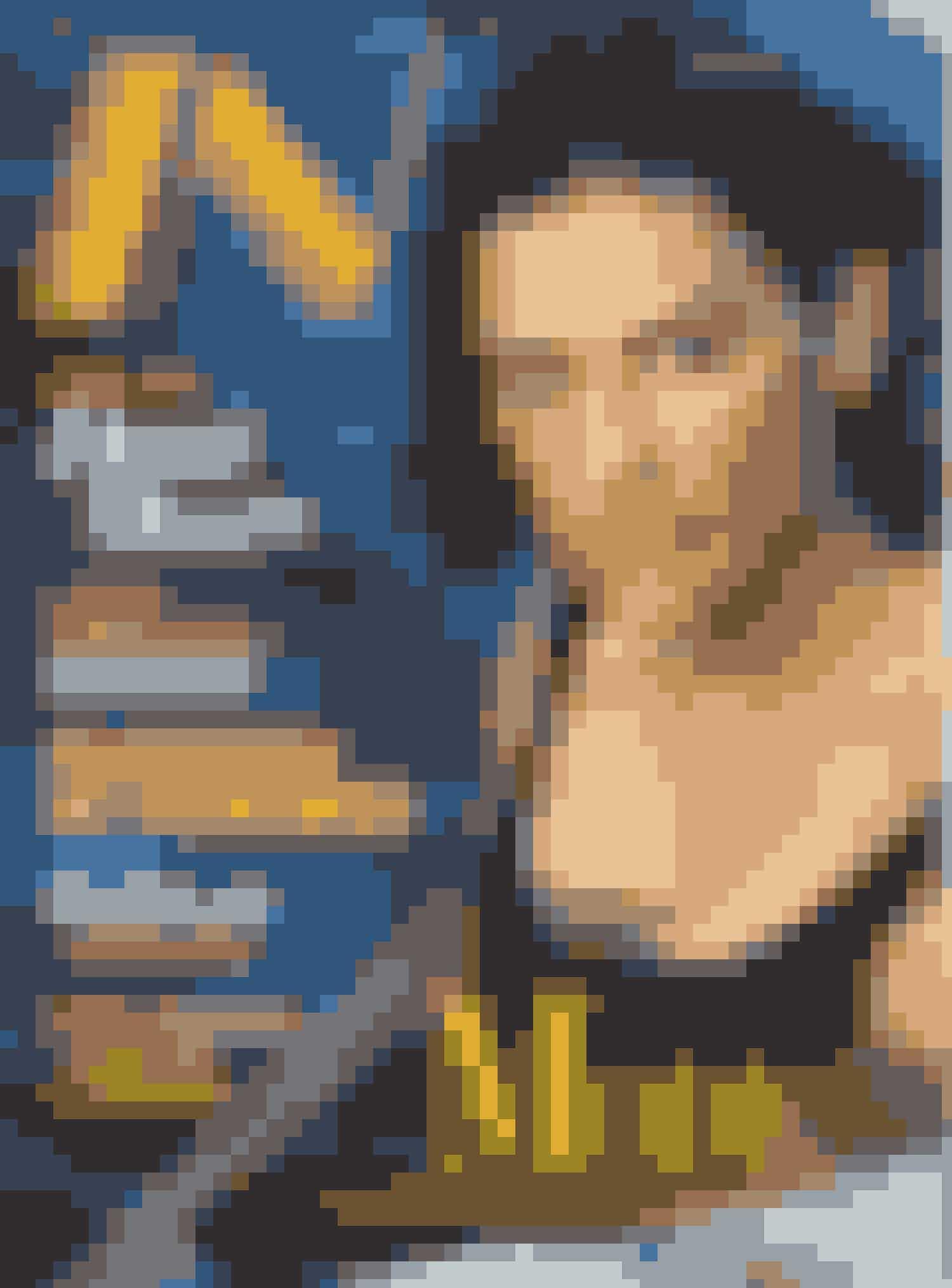Demi More på forsiden af Modemagasinet IN i juni 1998
