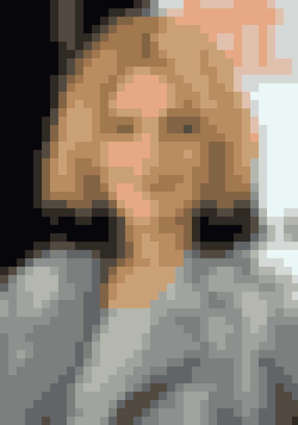 Drew Barrymore Drew Barrymore til en pressekonference i 2009 med lyst hår og sort dip dye.