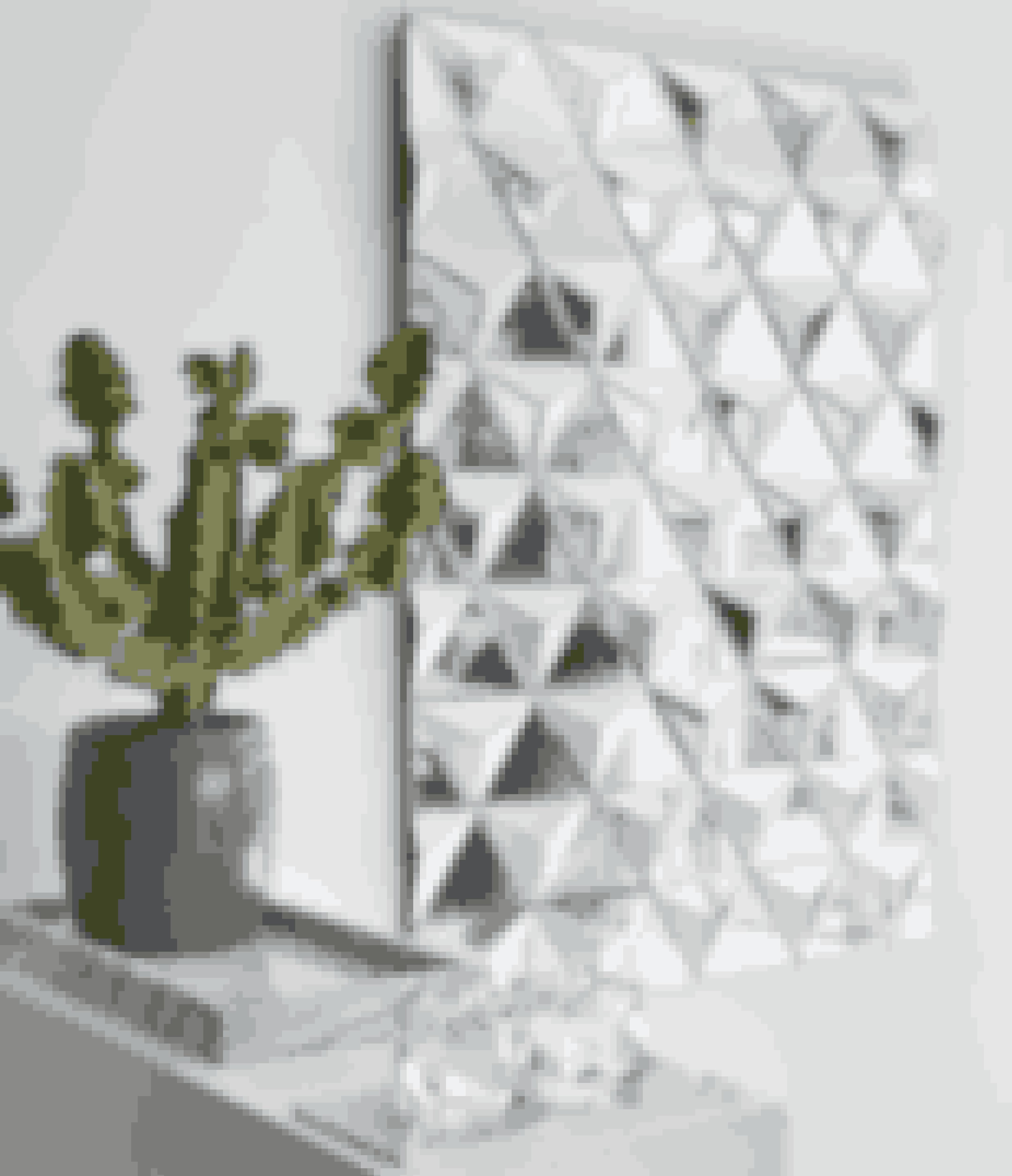 Her bor:Julie Hugau, 37 år, medejer af Reflections Copenhagen, hendes mand Frederik Hugau Raunstrup, 38 år, sammen med deres to børn.Bolig:Hus på 110 kvadratmeter bygget i 1880 som tobaksbutik og fabrik.Stil:Skandinavisk, minimalistisk art deco.