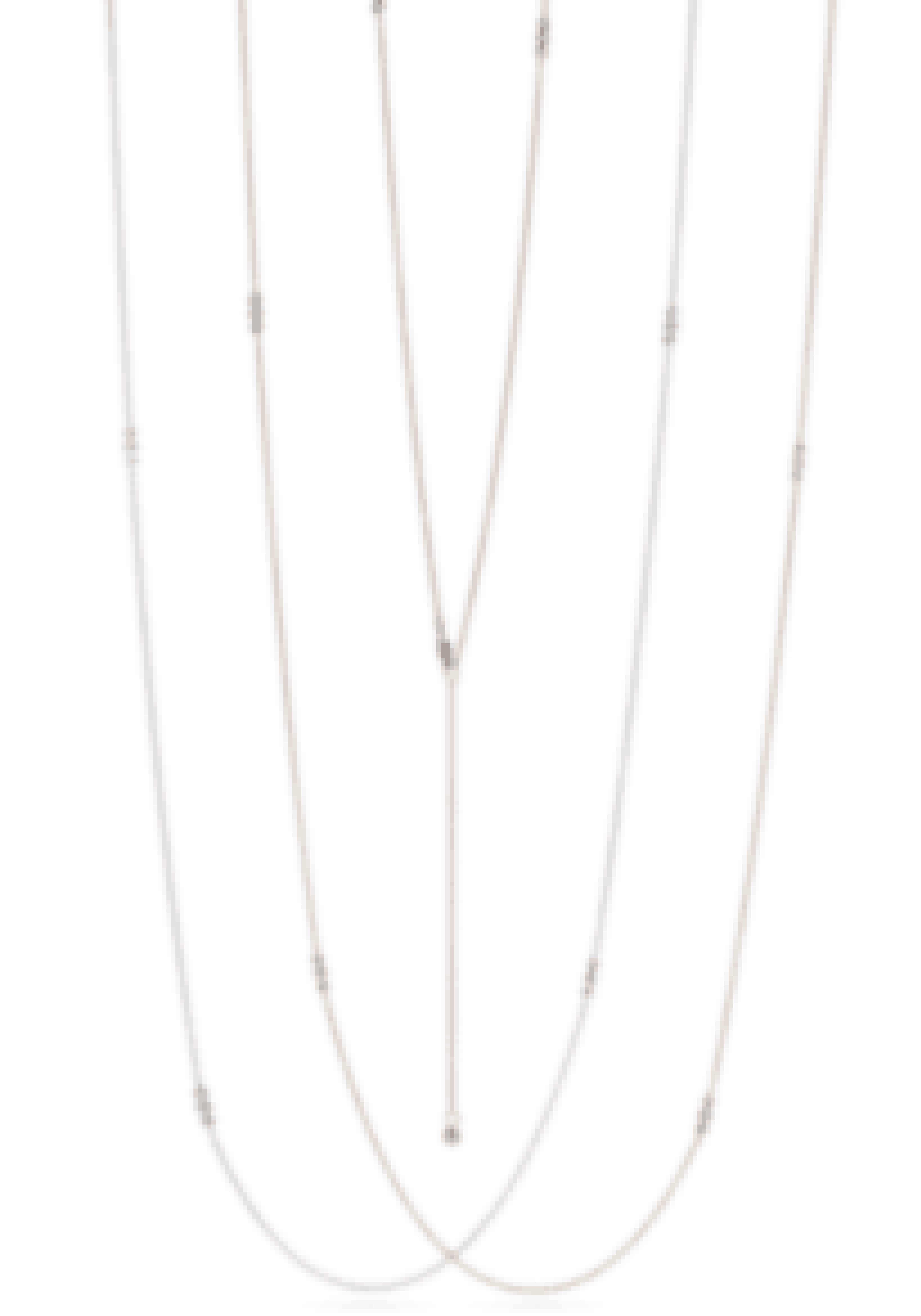 Lang kæde med diamanter, 29.500 kr. Se smykket HER