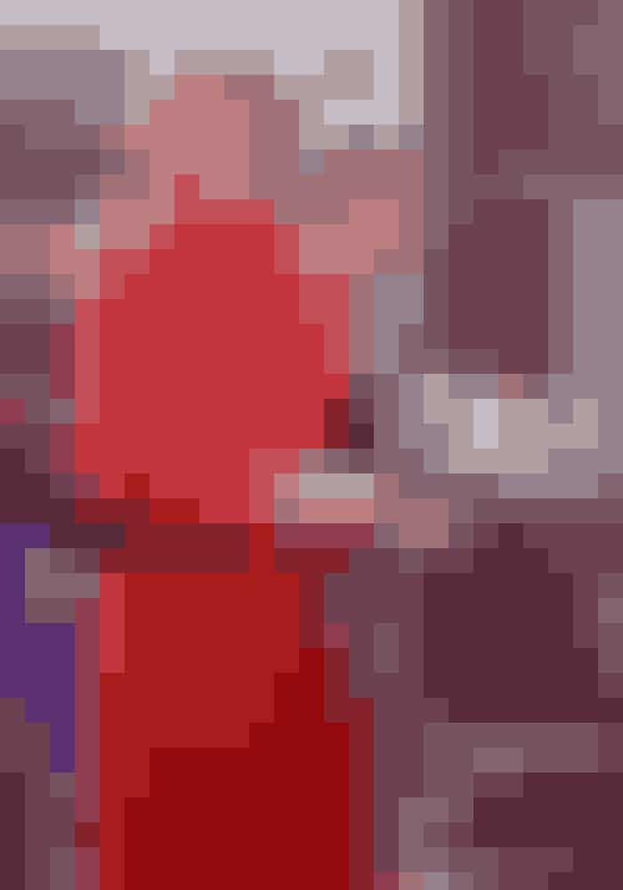 Rød frakke, Diana