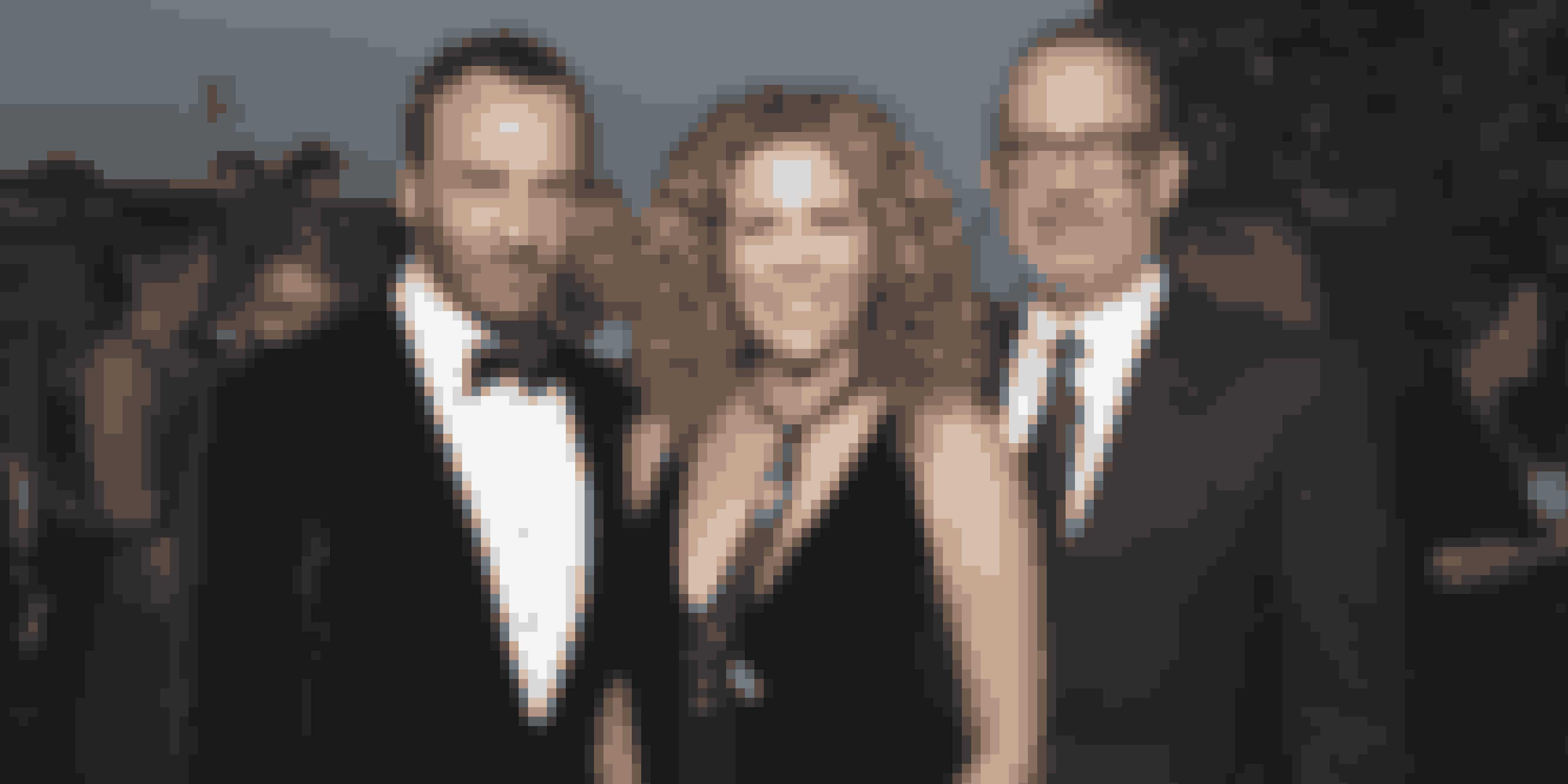 Tom Hanks og hustruen Rita Wilson i selskab med designer og filminstruktør Tom Ford - som Tom Hanks dog stadig har til gode at arbejde sammen med.