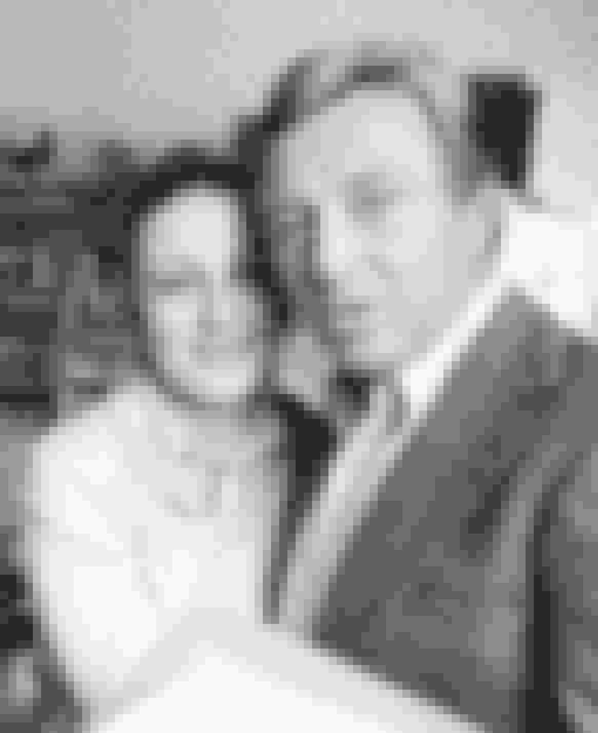 Serien gik også tæt på de to politifolks privatliv, her Henning Moritzen (Eriksen) med Ulla Jessen (Lisbeth Frandsen).