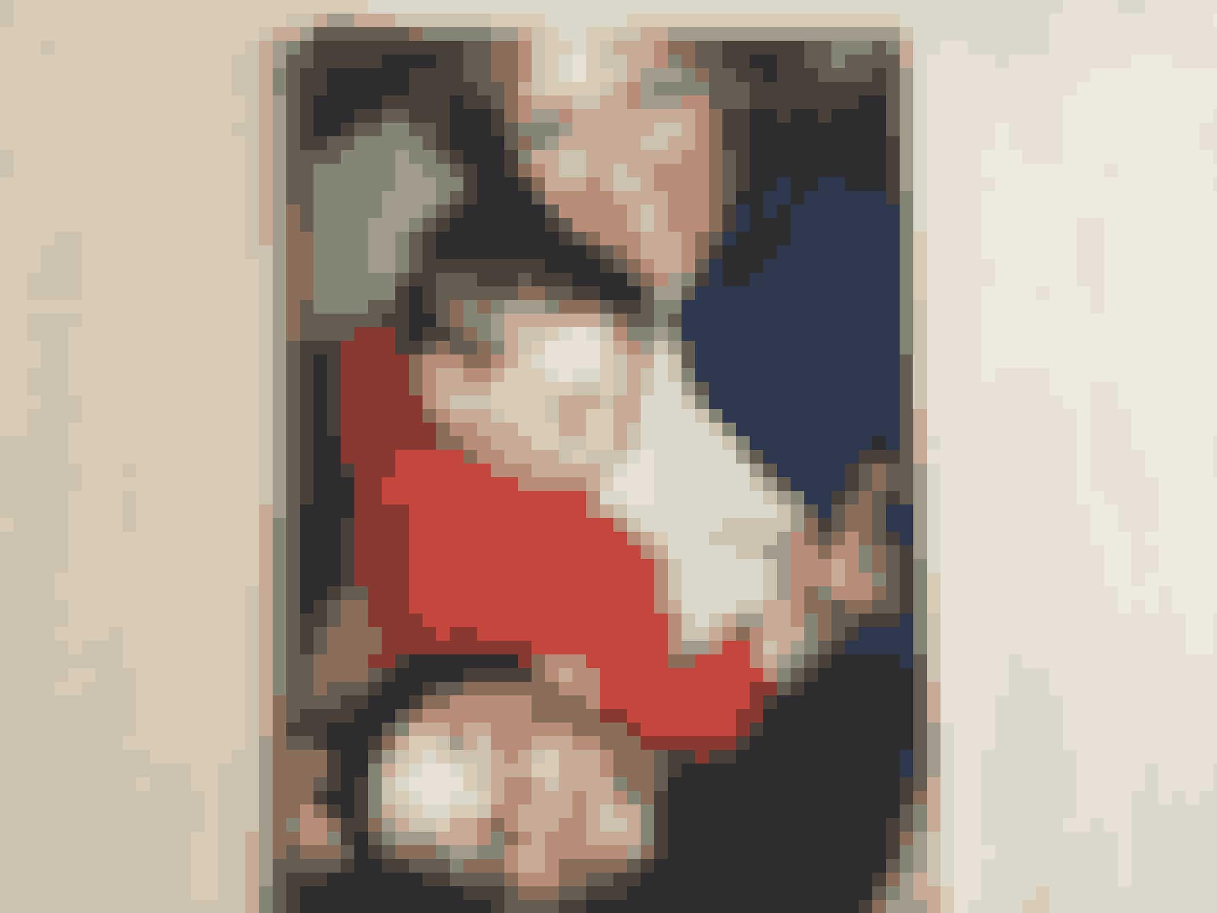 Margit med sine sønner, da de var børn.