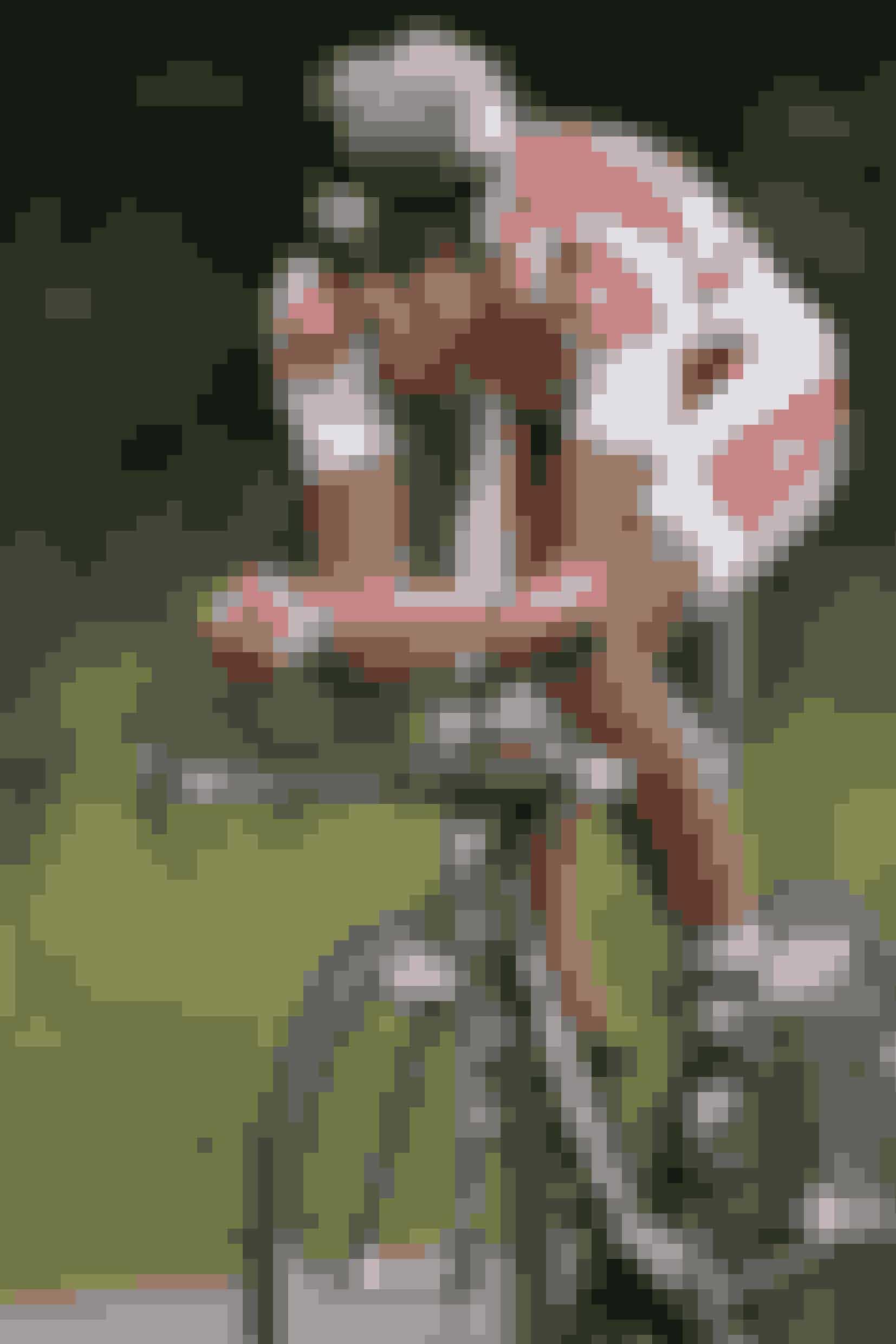 Mette og Bjarnes søn, Thomas, er gået i farens fodspor og kan også skrive cykelrytter på cv'et. Her er billedet taget til Post Danmark rundt i 2011.