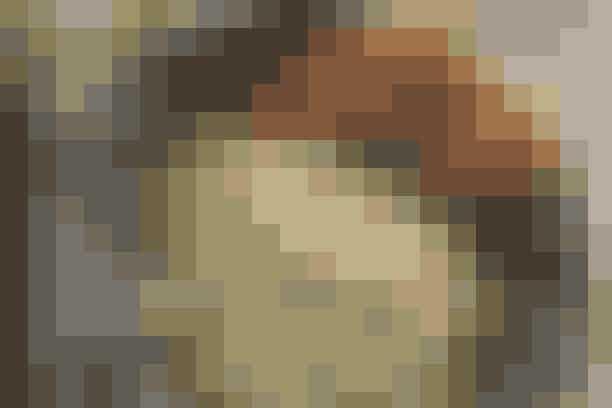 Stegt flæsk med persille-risotto  Af Pia Friis Andreassen/Foto: Martin Tanggaard    Skift kartoflerne og persillesovsen ud med persille-risotto      4 pers.   Ingredienser til stegt flæsk med persille-risotto  500 g svinebryst i skiver  Salt   Persille-risotto:  400 g risottoris  1 finthakket løg  3 spsk. olie  Ca. 1 l kogende hønsebouillon  150 g revet parmesanost  1-2 finthakkede fed hvidløg  1 spsk. revet, finthakket økologisk citronskal  4 dl grofthakket bredbladet persille  Salt og peber  Citronsaft   PRØV OGSÅ: Lynstegt skinkekød   Fremgangsmåde Stegt flæsk:  Læg flæskeskiverne på en rist over en bradepande og sæt dem øverst i en kold ovn. Tænd ovnen på 200° og steg flæsket i ca. 15 min. Vend skiverne og steg dem, til de er gyldne og sprøde uden at være hårde (ca. 20 min.). Læg dem på køkkenrulle i ca. 1 min. Krydr med salt.   Persille-risotto:   Sautér løget i olien, til det er gennemsigtigt. Tilsæt risene og vend dem rundt, til de er fedtet godt ind. Spæd lidt efter lidt med bouillon under konstant omrøring i ca. 20 min. Væden skal være helt opsuget, inden du tilsætter mere. Tag gryden af varmen. Rør ost, hvidløg, citronskal og persille i. Smag til med salt, peber og citronsaft.   Tilberedningstid:  Ca. 45 min., heraf arbejdstid ca. 35 min.   PRØV OGSÅ: Svensk pølseret og rugbrødschips