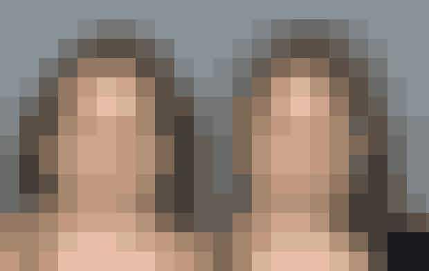 Det er ikke til at se, at det er samme kvinde. Hun er misbruger af metamfetamin, og der er kun tre år imellem billederne fra 2003 og 2006.