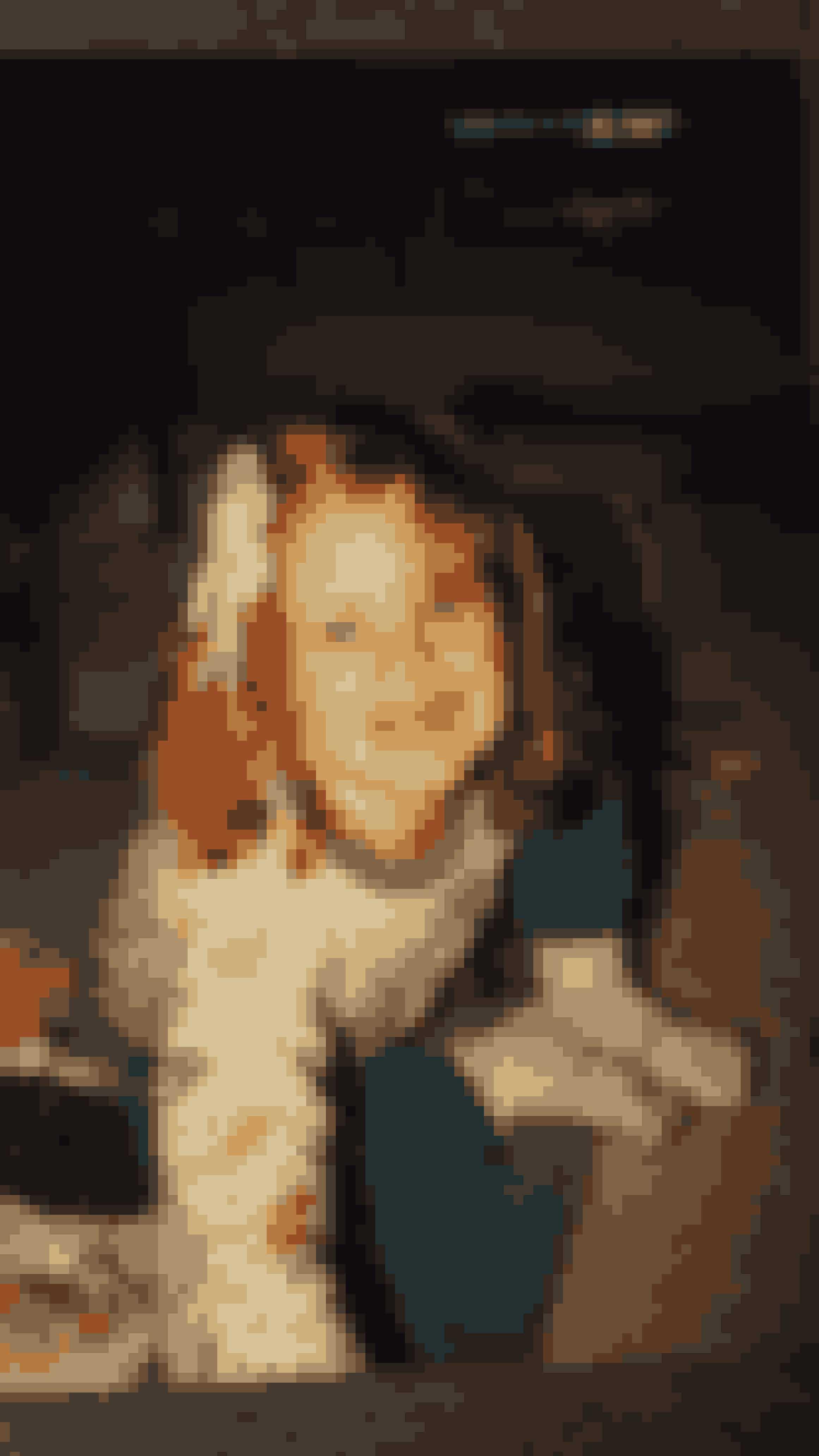 Nanna er i virkeligheden rødhåret. Men hun har ikke haft sin egen hårfarve siden hun mod sin mors vilje farvede hår som 12årig.
