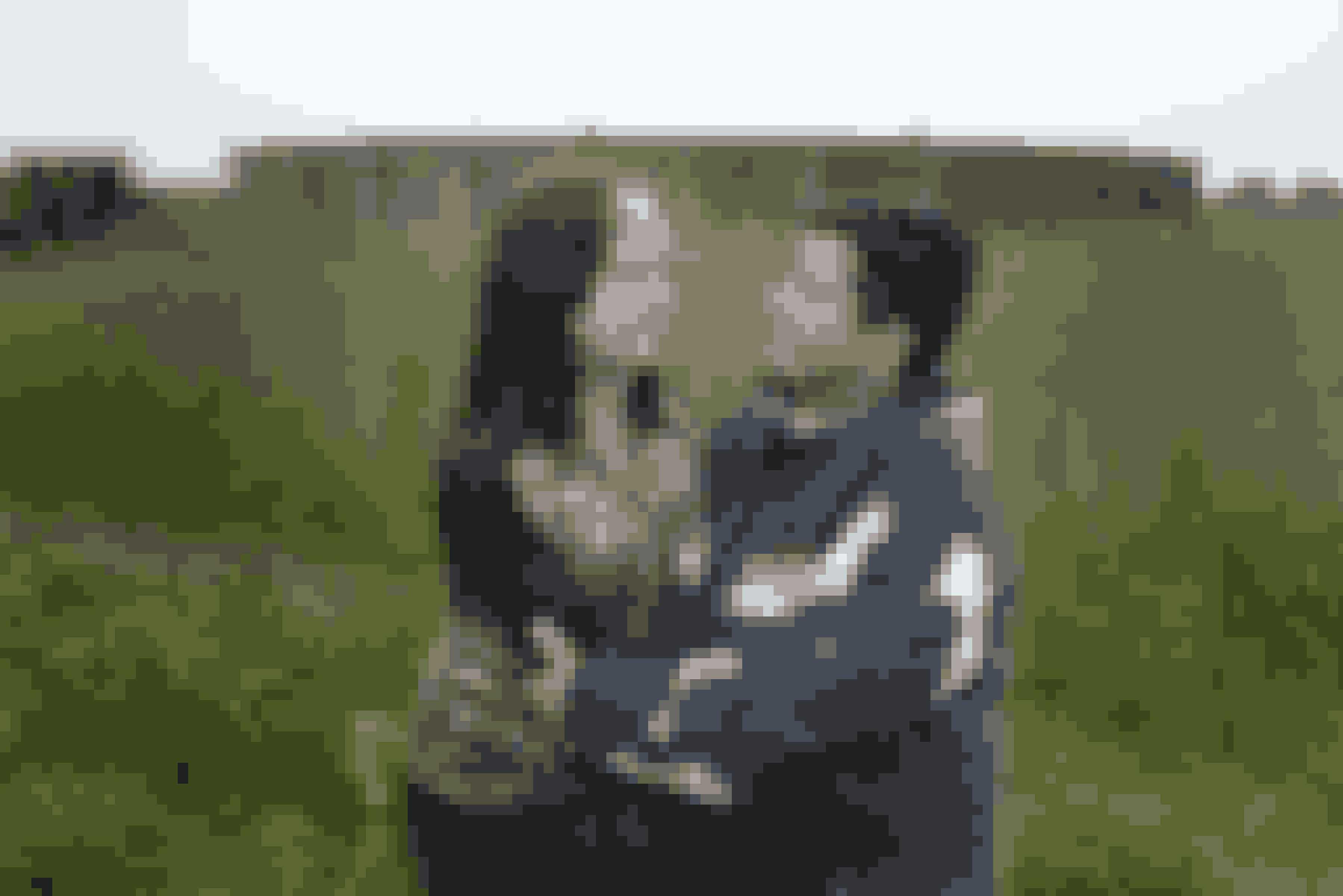 Simone sammen med sin mor Dorthe Uth Jensen