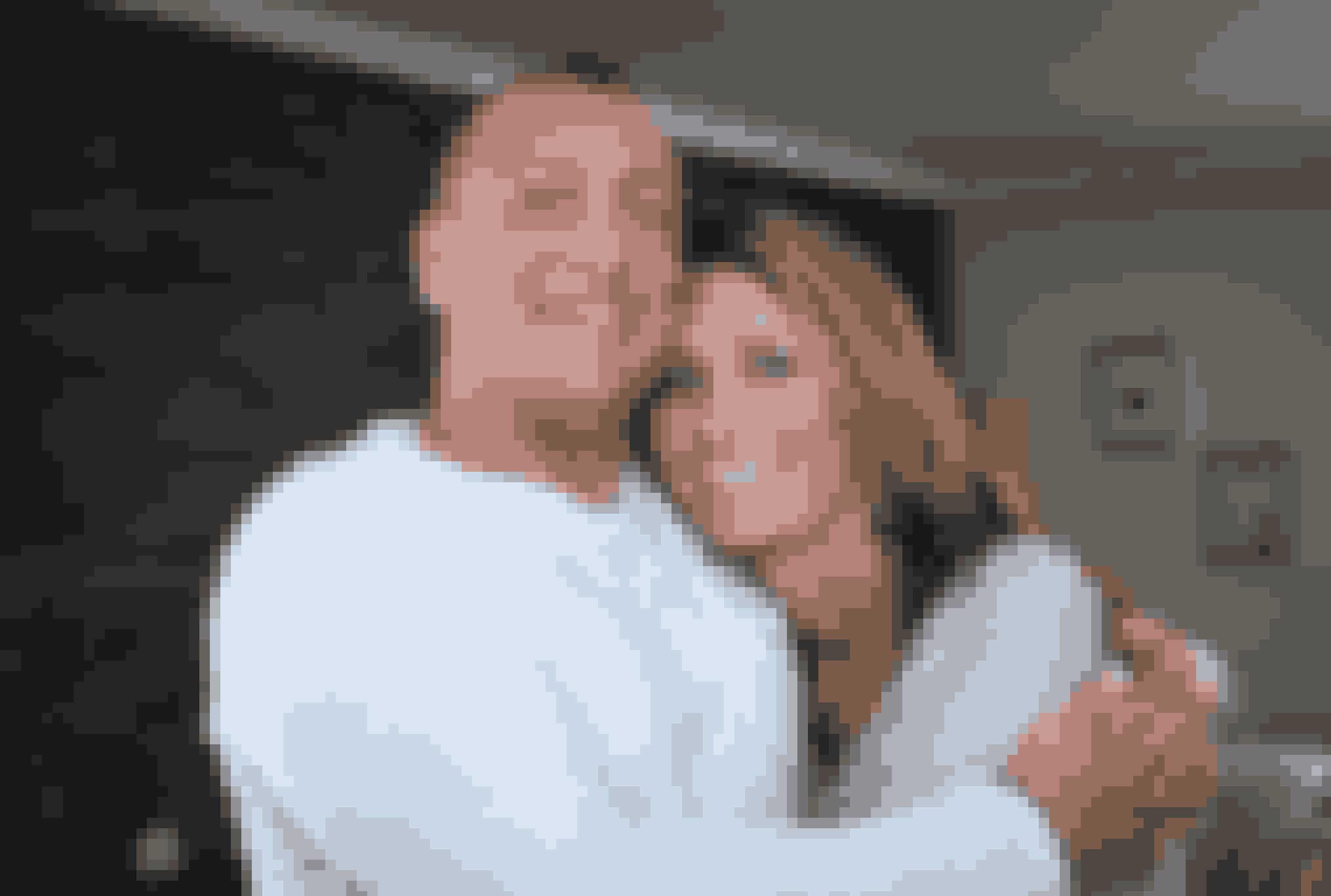 Kendt fra X Factor48-årige Torben Hein fra Give med kæresten Marianne, 40.