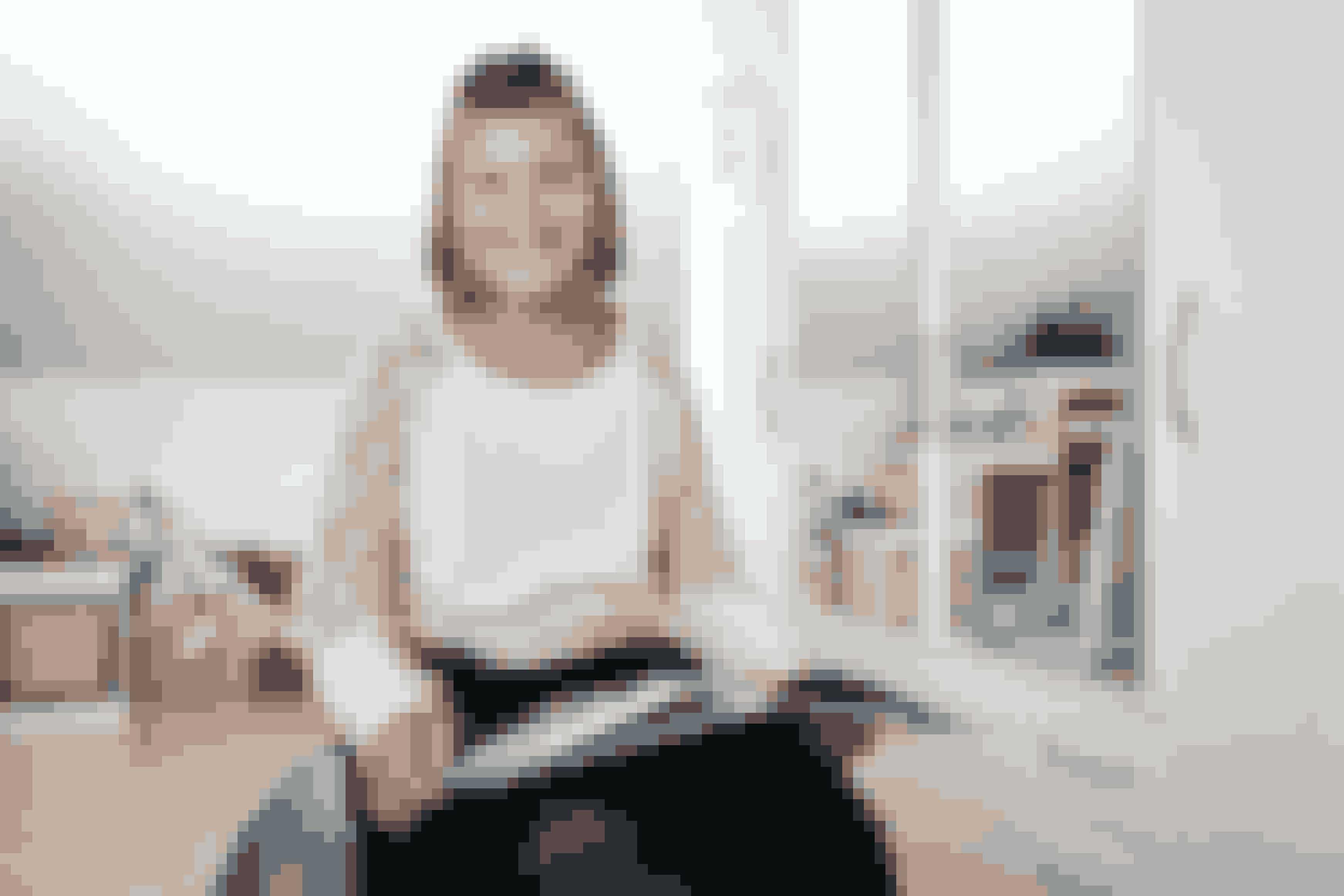 11-årige Anne er blevet hjulpet med sansemotorisk træning