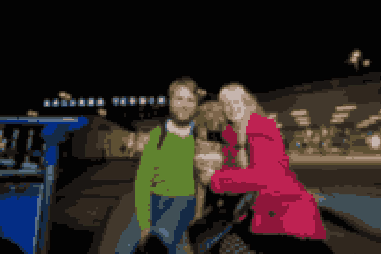 På alle rejserne har Sara også haft sin ven Öyvind med som rejsemakker. Men han fører slet ikke så godt som Bris, synes hun.