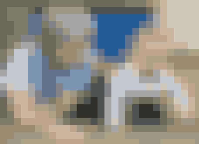 HannebesøgerMads ijudoklubbenflere gangeom ugen. Såer der tid tilfri leg på detbløde gulv.
