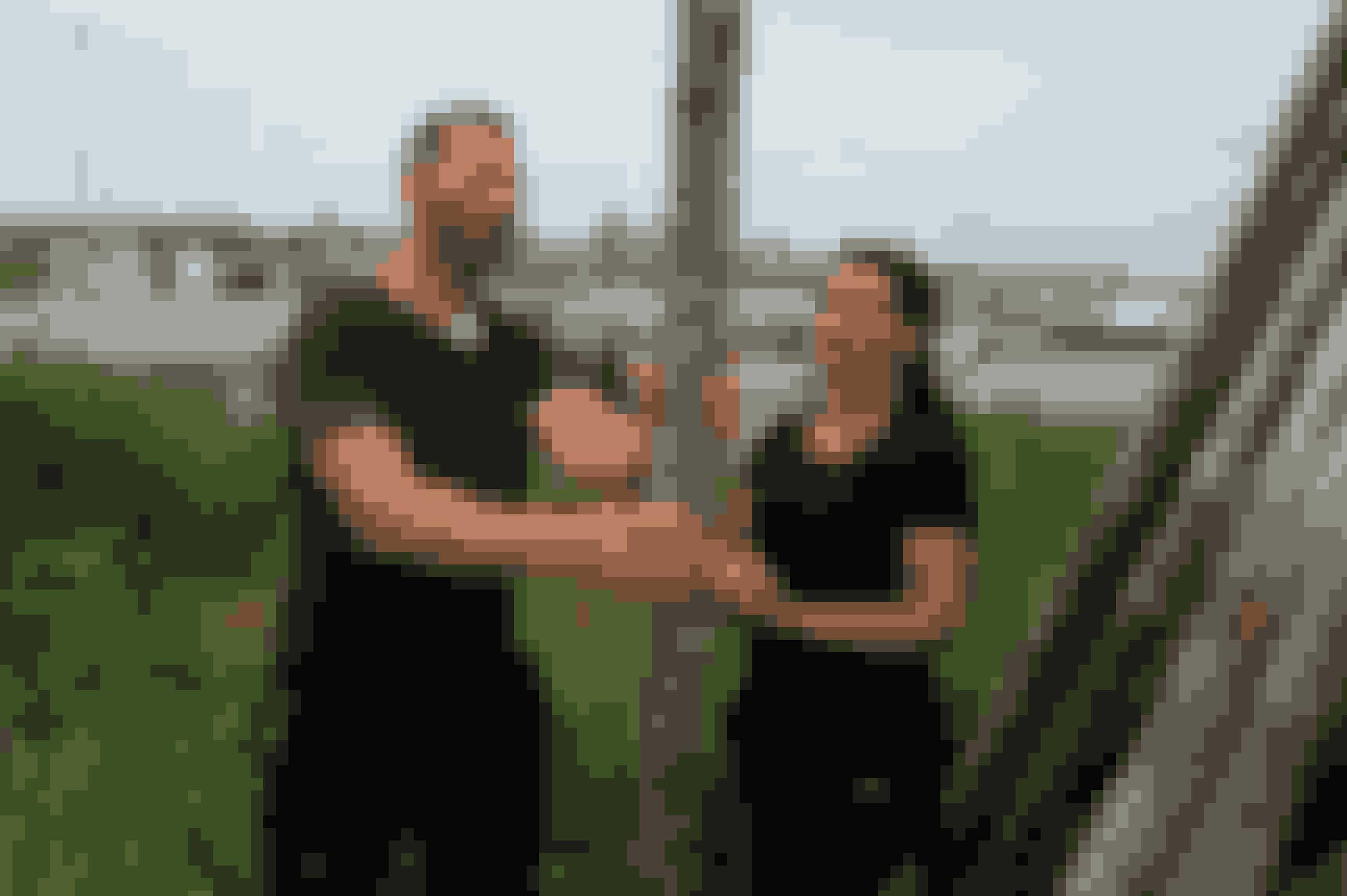 Charles og Cassia er gift og kommer fra Frederikshavn. (Jørn Deleuran/TV 2)