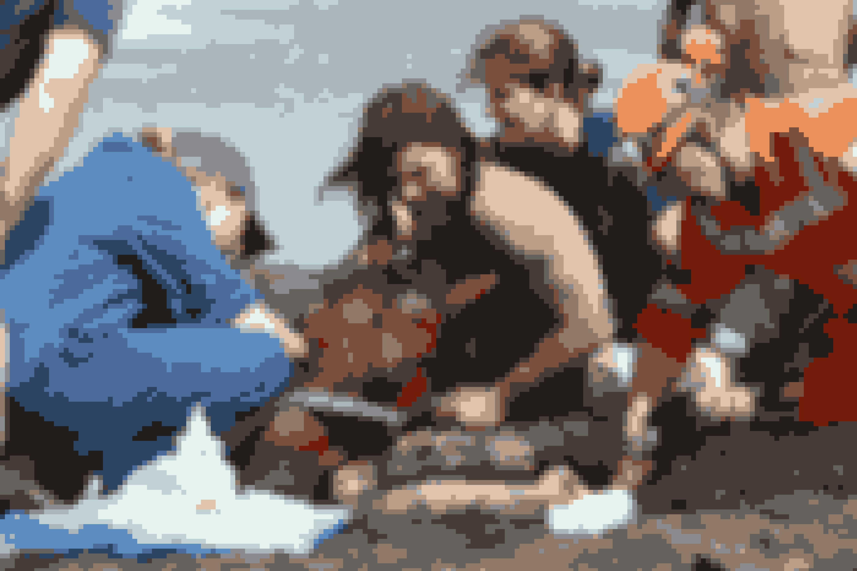 Hvis de ikke får befriet ham, inden tidevandet kommer, så drukner han.