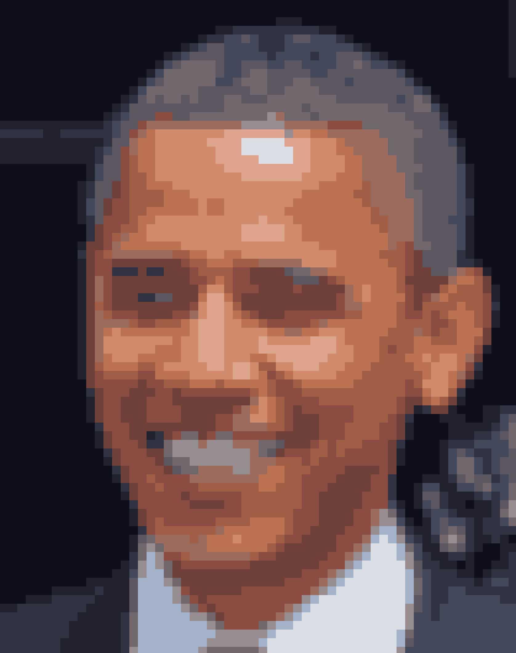 Barack Obama har linjer fra næsen til mundvigen.