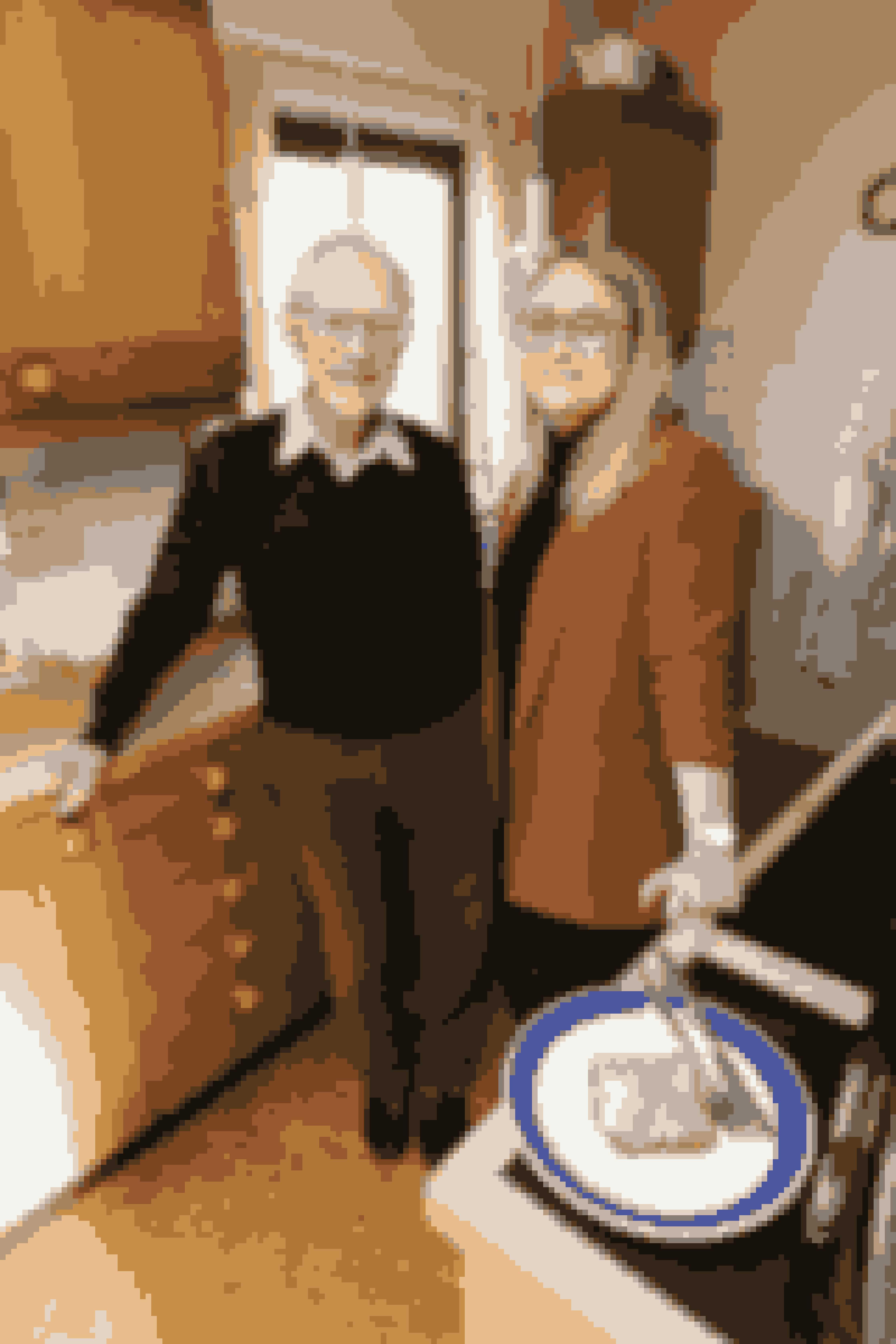 Isabella og Emil har boet hos Moffe i en uge, og de har allerede fået masser af sild. Det skal være den der hedder Budget fra Føtex, hvis man spørger Moffe. Det er de bedste.