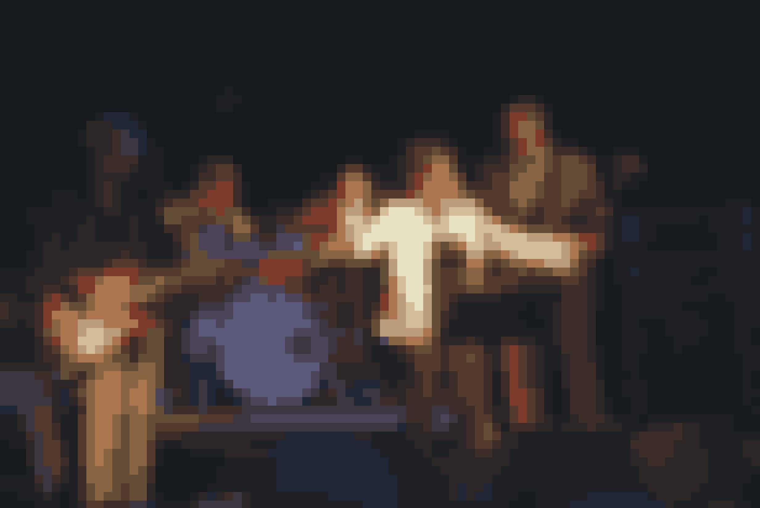 Bandets iørefaldende melodier har skabt mange fester.