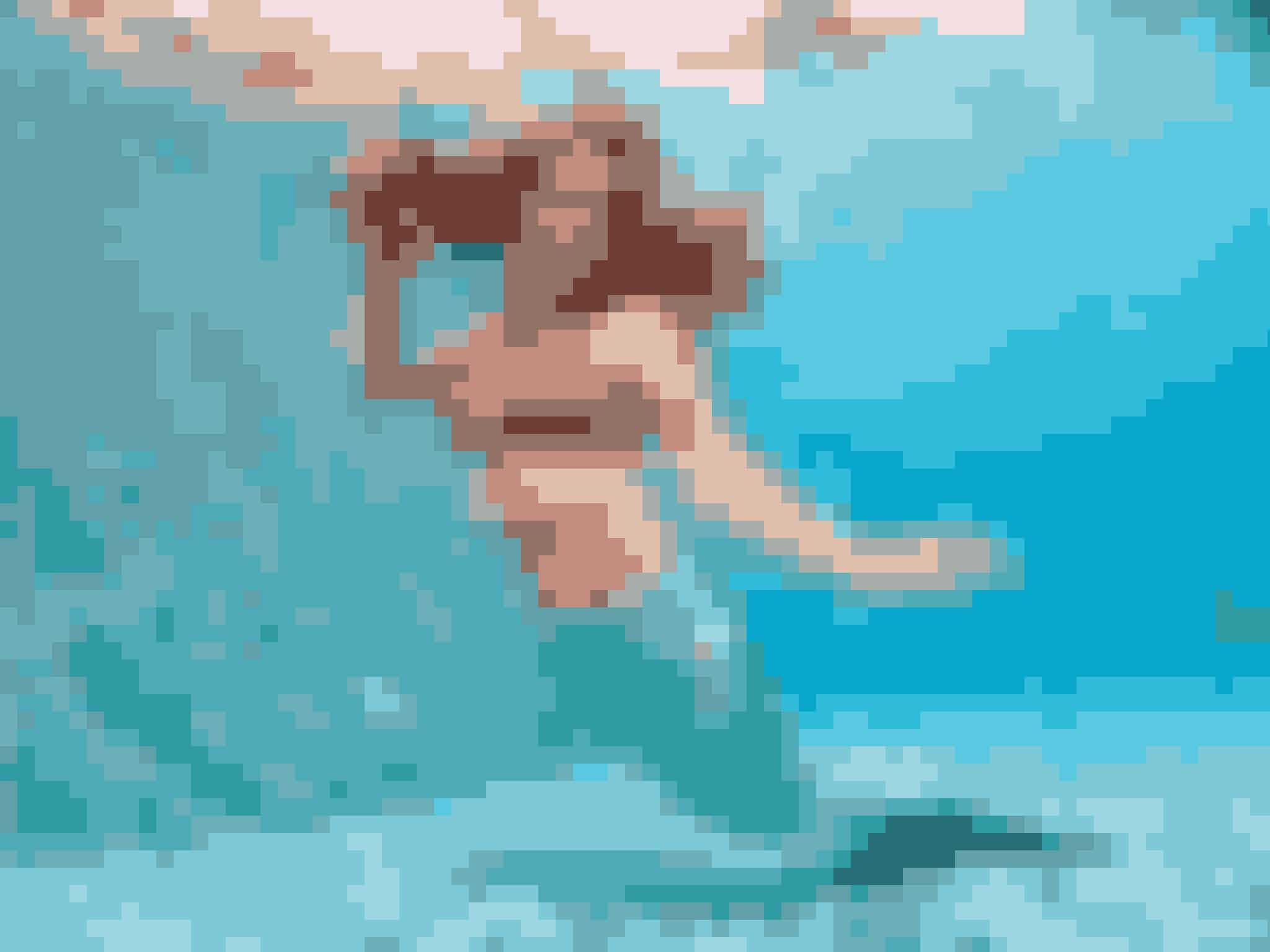 Melanie er virkelighedens havfrue.