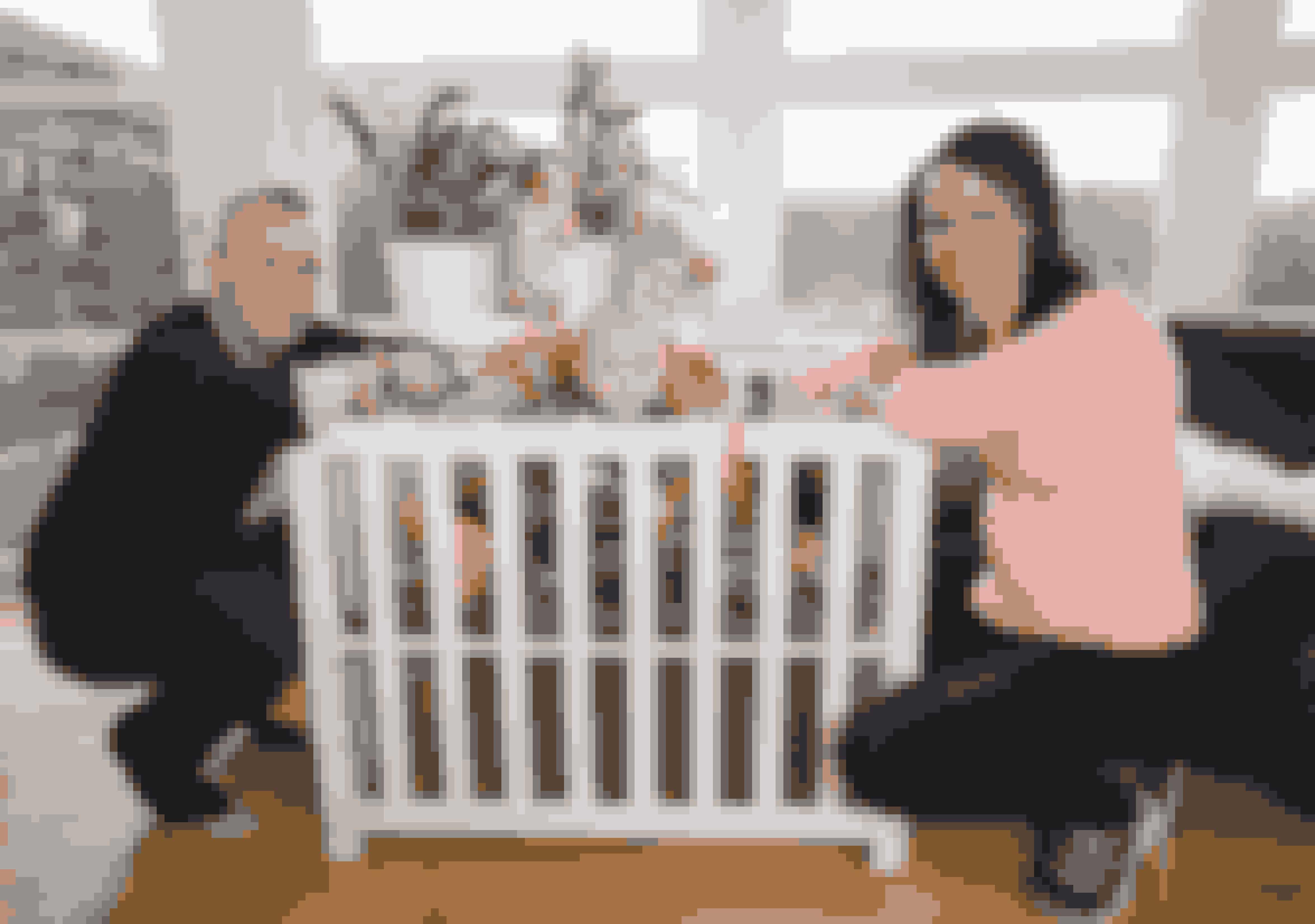 Camilla Framnes og Kevin med deres fælles søn Victor samt Oliver og Sebastian.
