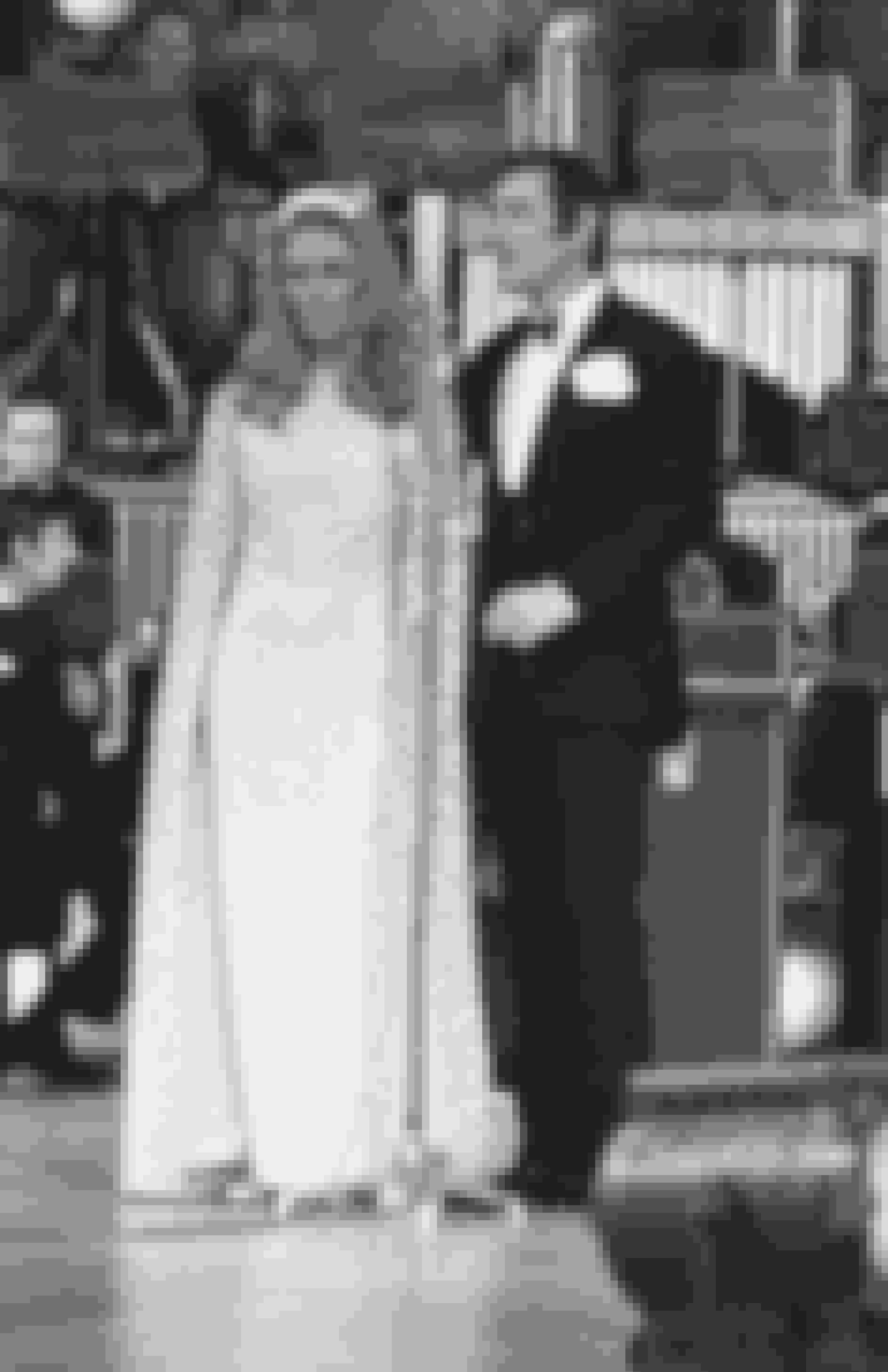 Umådeligt populært par: Vivi Bach – som hun kaldte sig syd for grænsen – optræder sammen med sin mand, Dietmar Schönherr — her i 1969 in Berlin.