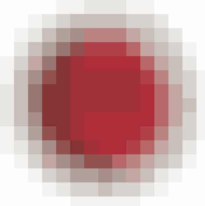 Rød øjenskyppe fra topshop, ca. 50 kr.