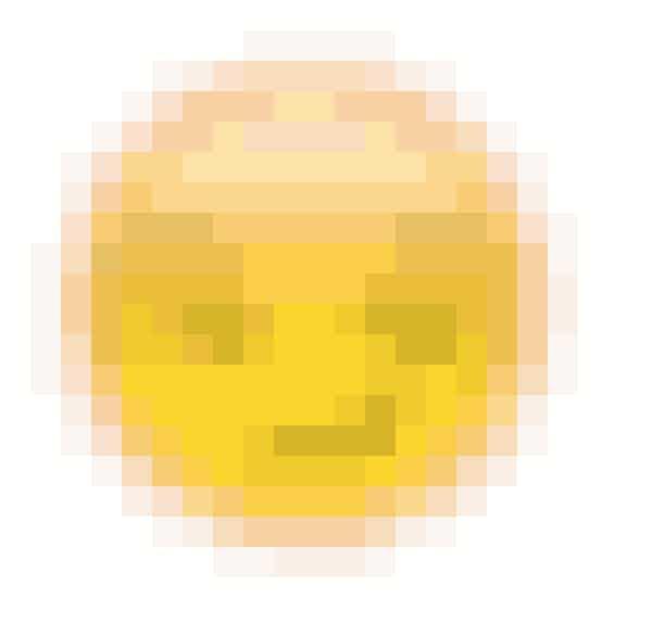 Smileyen, der ser lidt skeptisk ud, betyder, at du er personens bedste ven, men personen er ikke din bedste ven
