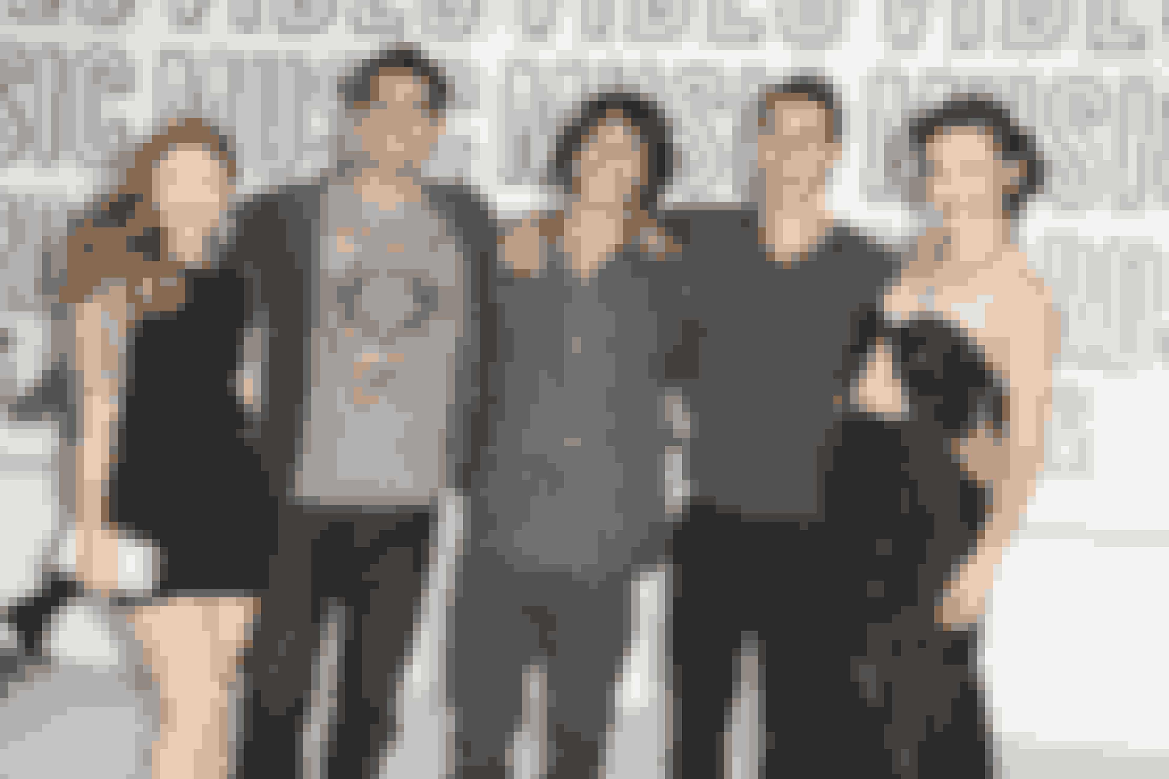 """""""Teen Wolf""""-castet plejede at sammenligne sig selv med """"Venner"""" og beskrev Tyler Posey som Joey, Dylan O'Brien som Chandler, Colton Haynes som Ross og Tyler Hoechlin som Richard."""
