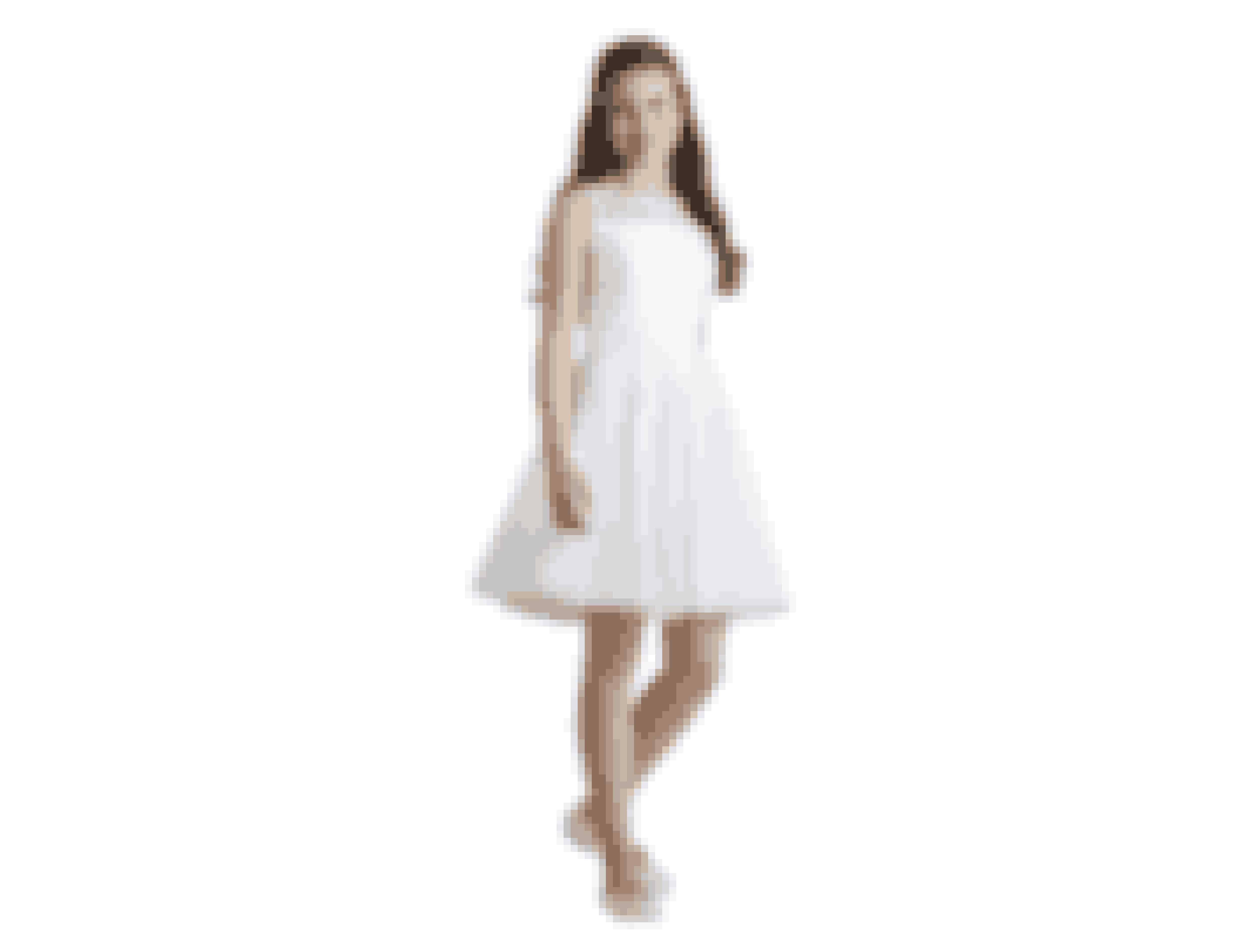 Enkelt kjole med elegant V-ryg, 1.995,00 kroner.